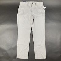 Gap Mens 34x30 Slim Fit High Rise Gray Dress Pants Trousers New With Tags Defect