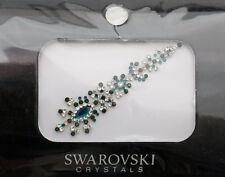 Bindi bijoux de peau mariage front strass cristal Swarovski vert INHC  3608