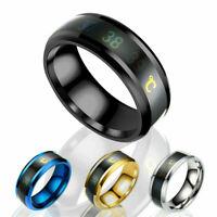 Ring Smart Edelstahl intelligente Thermometer Temperaturmessung Temperature P7K9