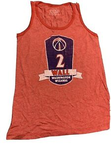Majestic Threads Athletic NBA Washington Wizards Women's Premium Large JOHN WALL