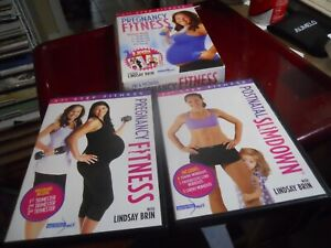 1ST STEP FITNESS Pre & Postnatal Pregnancy DVD 2 Disc Set Featuring Lindsay Brin