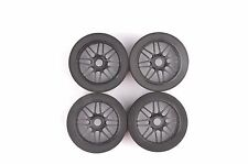 RC 17mm Hex 4Pcs Foam Tires&Nylon Wheel For HSP HPI 1/8 Scale on Road Racing Car