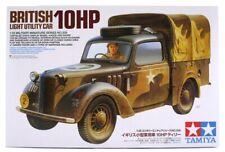 TAMIYA BRITISH LIGHT UTILITY CAR 10HP WITH FIGURE 35308 1:35