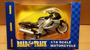 MAISTO 1/18 Scale Motorcycle Blk/silver Yamaha YZF Thunderace 1000 Deltabox EXUP