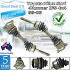 2 CV Joint Axle Drive Shaft Toyota Hilux RN110R 1988~1997 4X4 4cyl 2.4L Petrol