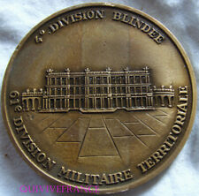 MED8371 - MEDAILLE 4° DIVISION BLINDEE - 61° DIVISION MILITAIRE TERRITORIALE