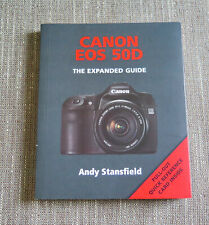 Canon Eos 50D (Expanded Guides) by Andy Stansfield Paperback Book Camera Manual