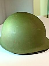 1954 Korean War M-1 Helmet with Liner by Micarta Great Condition!