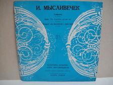 Myslivecek: Symphony/Boris Pergamenshchikov - cello, Kozireva - piano LP RUS