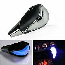 Touch Activated Blue Light Car Gear Shift Knob Head Shifter Selector Universal