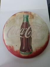 "1938 Original 24"" Coca Cola Button AM38"