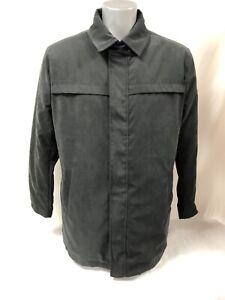 Coat Man Garciajeans 100% Polyester Ref H71290 Size L Black New