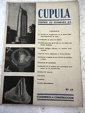Revista Cupula num.29,Construccion,Decoracion,Arquitectura