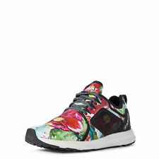 """Ariat 10031629 Women Floral Cactus Print 3"""" Fuse Round Toe Athletic Casual Shoes"""