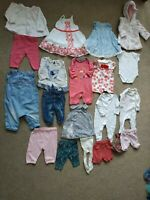 Baby Girls Clothes Bundle /Newborn First size age 0-3 months