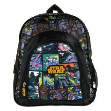 Star Wars Backpack Boys Nursery School Black