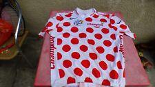 maillot de vélo tour de France 2007 pois rouge XL Nike