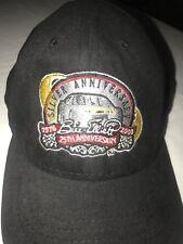 NASCAR Bill Elliott 1976 2000 Silver 25 Anniversary Racing Ball Cap Pit Hat Rare