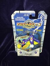 New Vintage 1999 Takara Hasbro Medabots Pingen Figure & Game Card + Die RARE