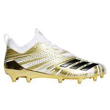 ADIDAS ADIZERO 5-STAR 7.0 LOW Mens Football Cleats, White Metallic Gold, Size 15