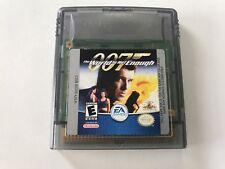 Nintendo Gameboy Game Boy Color Spiel 007 Welt Ist Nicht Genug  //  Top //  #205
