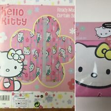 Hello Kitty Curtains Ready Made Curtains Still In Original Packaging