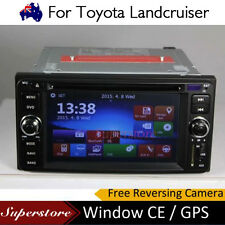"6.2 "" Navigation CAR DVD GPS Player head unit For Toyota Landcruiser 1999-2006"