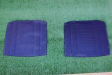 Mercedes W123 BLUE  Backrest Seat cover Front seat left and right