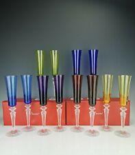 """BACCARAT - 1 Flûte à champagne couleur - Modèle """"Mille nuits"""" Flutissimo NEUF!"""
