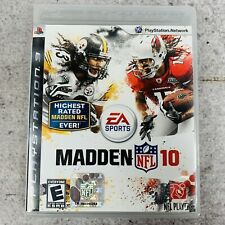 EA Sports Madden NFL 10 PlayStation 3 PS3 Complete w/ Manual