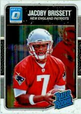 2016 Donruss Optic Football Card #170 Jacoby Brissett RR RC mint from pack