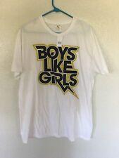 BOYS LIKE GIRLS...Rock N' Roll T Shirt. Men's Size XL..New..Never Worn..Music