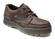 Men's ECCO Track II Low BOOTS Bison Leather Sz 44 EU Display Retail