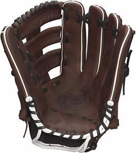 "New Other Easton El Jefe Slowpitch Series 14"" RHT Softball Glove Brown/Black"