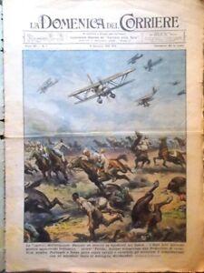 2 Riviste Domenica Corriere 1 del 1941 WW2 - Domenica del Corriere 3 del 1911