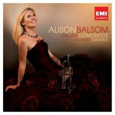 ALISON/SCOTTISH ENSEMBLE BALSOM - ITALIAN CONCERTOS  CD KLASSIK NEW+ VIVALDI/+