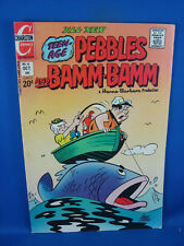 THE FLINTSTONES PEBBLES AND BAM BAM 16 F CHARLTON 1973