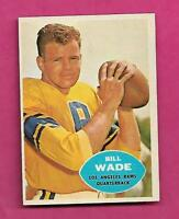 1960 TOPPS # 61 RAMS BILL WADE EX-MT CARD (INV# A8161)