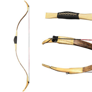 Traditional Turkish Recurve Bow Handmade Archery Hunting Horsebow 20-40lbs