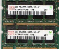 4GB 2x 2GB Kit Toshiba Satellite M300 M305 M305D M500 M505 M505D DDR2 RAM Memory