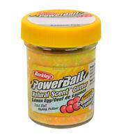 Berkley PowerBait Glitter Trout Bait Salmon Egg Scent Rainbow 1.75Oz Jar BGTSRB2