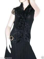 Etole/foulard/chale en organza, idéal avec robe de soirée NOIR