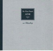 Der Lucas Cranach Altar zu Schneeberg, 1. Auflage 1996, von Frank Meinel/b.Aue