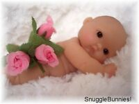 "RARE BROWN EYE SUCKY LIP 5"" BERENGUER BABY FOR REBORN, OOAK OR PLAY ღ"