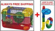 SUPERPET CRITTERTRAIL PRIMARY CAGE KIT FOR HAMSTER & GERBILS. $56 VALUE