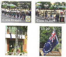 Cook Islands Anzac Day Issue - 22nd World Scout Jamboree - Gold Overprint