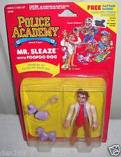 #8046 NRFC Vintage Kenner Police Academy Mr Sleaze Figure with FooFoo Dog
