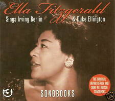 Ella Fitzgerald - Sings Irving Berlin & Duke Ellington Songbooks (3CD 2008) NEW