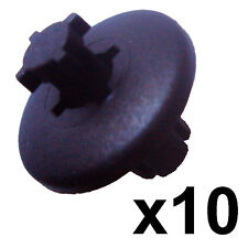 10x 8mm Plastic Trim Clip Peugeot Interior 206 307 407