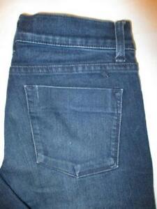 Mossimo Jegging Stretch Women's Dark Blue Denim Jeans Size 2 x 31 Mint